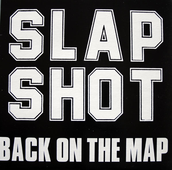 SLAPSHOT - Back On The Map - LP